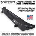 Jeep Gladiator JT Steel Rear Bumper With Fog Light Provisions by Reaper Off Road