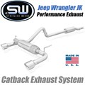 2012-2018 Jeep Wrangler JK Catback Exhaust System by Stainless Works