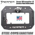 Jeep Wrangler JL License Plate Relocation Kit by Reaper Off Road