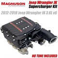 2012-2018 Jeep Wrangler JK Supercharger Kit by Magnuson Superchargers - NO TUNE