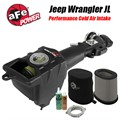 Jeep Wrangler JL Cold Air Intake Momentum GT Performance Package by AFE Power