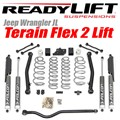 Jeep Wrangler JL Lift Kit - Terain Flex 2-Arm by ReadyLift