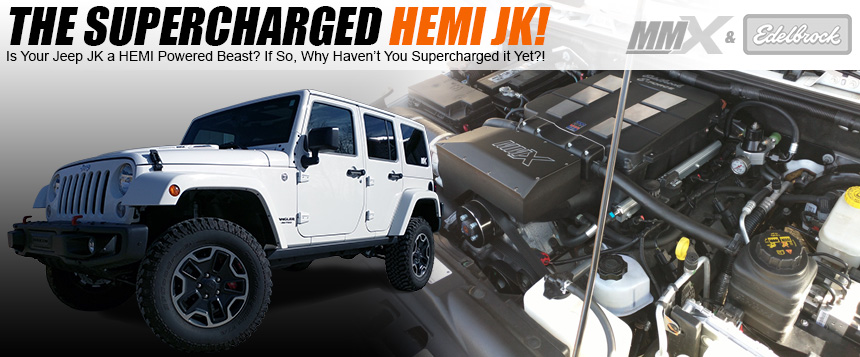 Jeep Wrangler JK HEMI Conversion by Modern Muscle Performance / MMX4x4.com