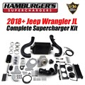 2018 - 2020 Jeep Wrangler JL Supercharger Kit by Hamburgers Superchargers - Complete Kit
