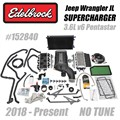 2018-2020 Jeep Wrangler JL Supercharger by Edelbrock - No Tune