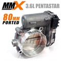 2012-2018 Jeep JK 3.6L 80mm Ported Throttle Body by Modern Muscle