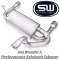 Jeep Wrangler JL Axleback Exhaust System by Stainless Works