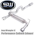 Jeep Wrangler JL Catback Exhaust System by Stainless Works
