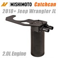 2018-2019 Jeep Wrangler JL 2.0L Catchcan by Mishimoto