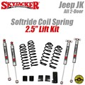 "Jeep Wrangler JK 2-Door 2.5"" Softride Coil Spring Lift Kit with M95 Shocks by SkyJacker"
