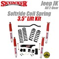 "Jeep Wrangler JK 2-Door 3.5"" Softride Coil Spring Lift Kit with Nitro Shocks by SkyJacker"