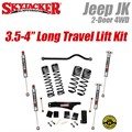 "Jeep Wrangler JK 2-Door 4WD 3.5-4"" Dual Rate Long Travel Lift Kit with M95 Shocks by SkyJacker"