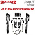 "Jeep Wrangler JK 4WD 4.5-6"" Rear Coil-Over Upgrade Kit by SkyJacker"