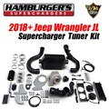 2018 - 2020 Jeep Wrangler JL Supercharger Kit by Hamburgers Superchargers - Tuner Kit