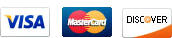 Modern Muscle Performance Proudly Accepts Visa, Mastercard, and Discover Credit Cards
